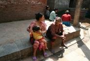 На улице Бхактапура